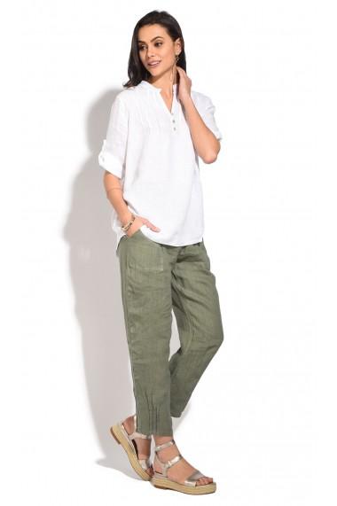 Pantaloni Le Jardin du Lin E18-48 Kaki