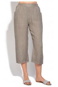 Pantaloni Le Jardin du Lin E18-49 Bej