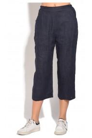 Pantaloni Le Jardin du Lin E18-49 Bleumarin