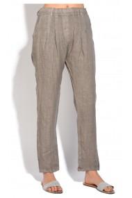 Pantaloni Le Jardin du Lin E18-51 Bej