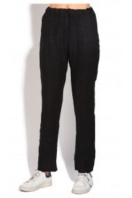 Pantaloni Le Jardin du Lin E18-51 Negru