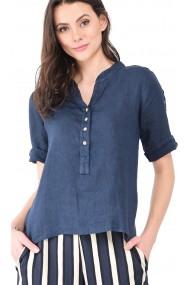 Bluza de vara Le Jardin du Lin E19-01 Bleumarin