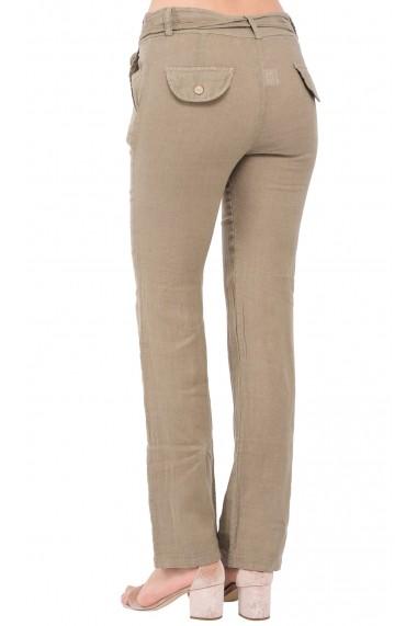 Pantaloni Le Jardin du Lin E19-02 Bej