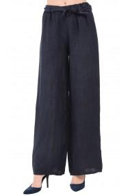 Pantaloni Le Jardin du Lin E19-10 Bleumarin