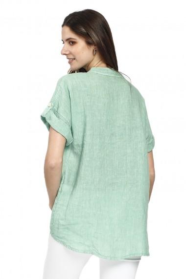 Bluza de vara Le Jardin du Lin E21-10 Verde