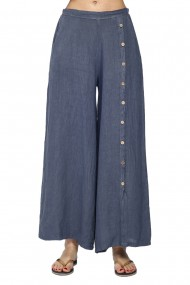 Fusta-pantalon Le Jardin du Lin E21-11 Bleumarin