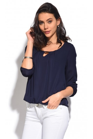 Bluza Assuili LORENA Bleumarin