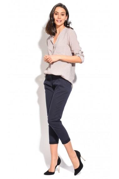 Pantaloni Assuili LUCIE Bleumarin