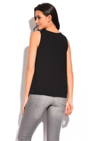 Bluza William de Faye WF01 Negru