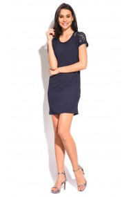 Rochie William de Faye WF07 Bleumarin