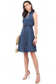 Rochie William de Faye WF121 Bleumarin