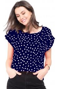 Bluza William de Faye WF140 Bleumarin