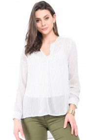 Bluza William de Faye WF141 Alb
