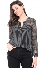 Bluza William de Faye WF141 Negru