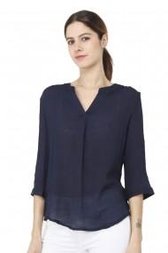 Bluza William de Faye WF148 Bleumarin