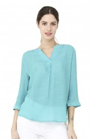 Bluza William de Faye WF148 Verde