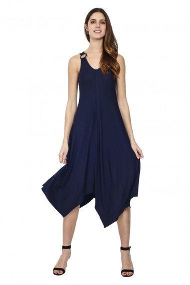 Rochie William de Faye WF162 Bleumarin