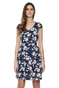 Rochie William de Faye WF163 Bleumarin