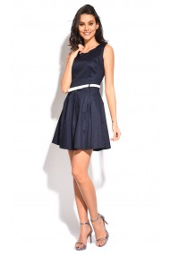 Rochie William de Faye WF56 Bleumarin