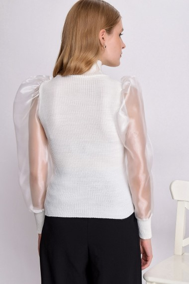 Bluza Madame Vogue alb