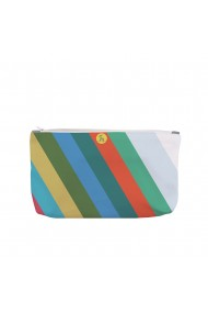 Portofel tip Pouch Handmade Original Mulewear Abstract Avalansa de Culori Color Avalanche Multicolor Big 38x23 cm
