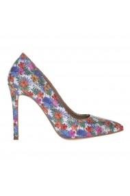 Pantofi Stiletto Mamzelle multicolori