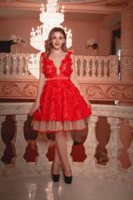 Rochie scurta de seara Moda Aliss RO002