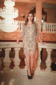 Rochie scurta de seara Moda Aliss RO003