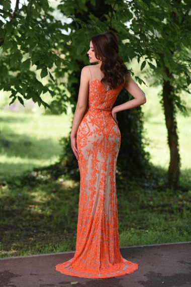 Rochie lunga de seara Moda Aliss RO008