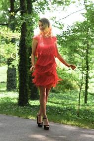 Rochie scurta de seara Moda Aliss RO009