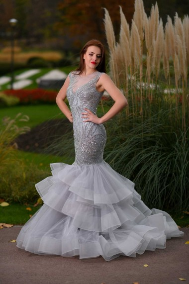 Rochie lunga de seara Moda Aliss RO011