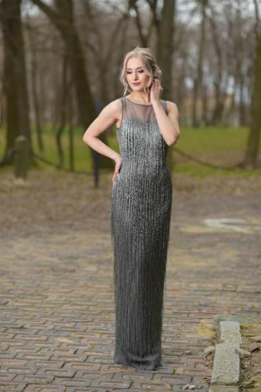 Rochie lunga de seara Moda Aliss RO016