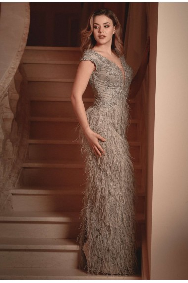 Rochie lunga de seara Moda Aliss RO020