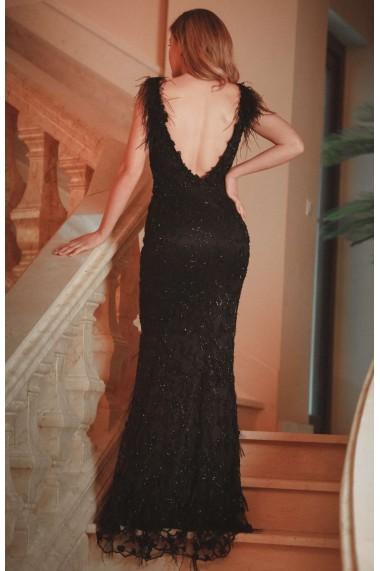 Rochie lunga de seara Moda Aliss RO021