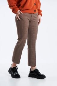 Pantalon Mobiente Maro cu patratele
