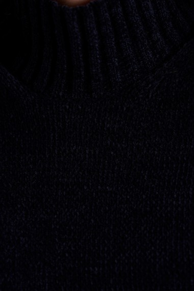 Pulover din tricot Mobiente Navy