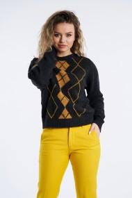 Pulover Mobiente din tricot