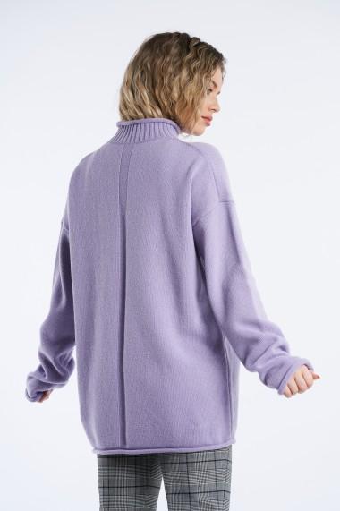 Pulover din tricot Mobiente Mov