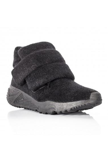 Pantofi sport NISSA sport cu talpa groasa Negru