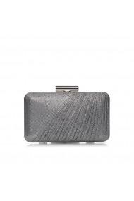 Clutch NISSA argintiu glitter Argintiu