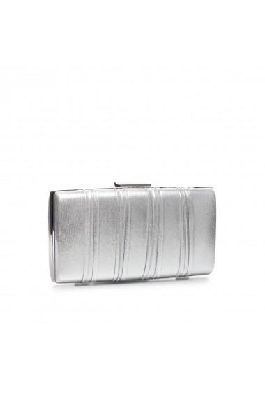 Clutch NISSA elegant argintiu Argintiu