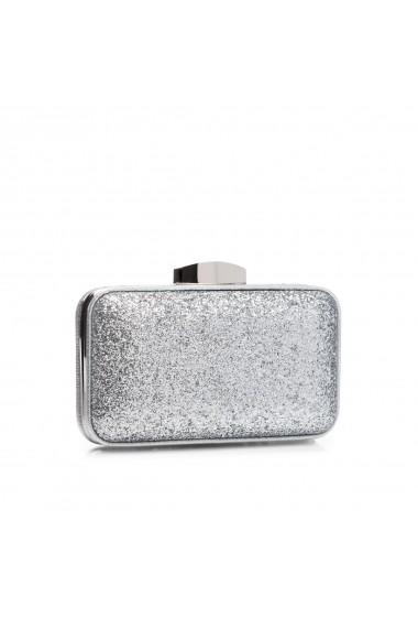 Clutch NISSA argintiu stralucitor Argintiu