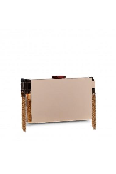Clutch NISSA metalic accesorizat Auriu