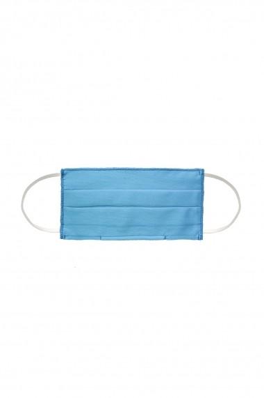 Masca NISSA igienica copii din bumbac 100% Albastru