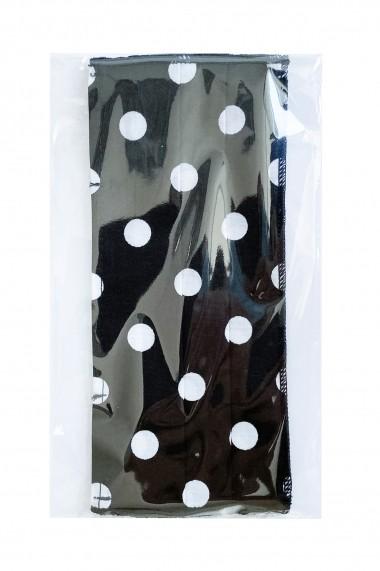 Masca NISSA igienica copii din bumbac 100% Buline albe