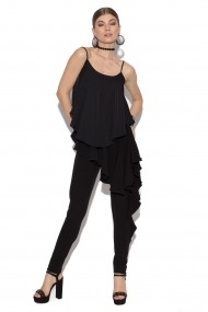 Pantaloni skinny NISSA nsp9328/Negru