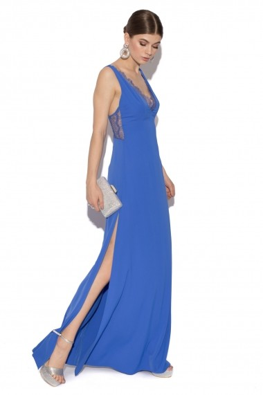 Rochie NISSA nsrs8811/albastra electric albastra