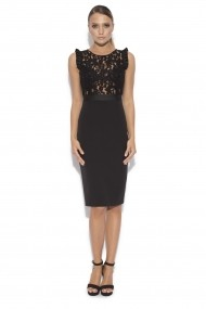 Rochie Little Black Dress NISSA nsRS9349/neagra neagra
