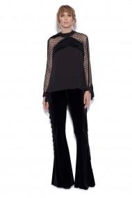 Блуза Nissa nsTOP8992/Negru Черен
