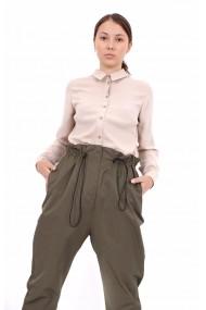 Pantaloni largi Novak Couture Avant Garde Kaki